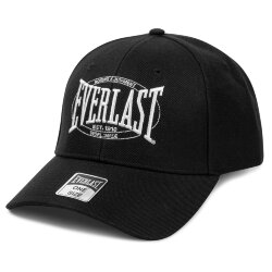 Бейсболка Everlast Authentic Logo черная (RE005 BK)